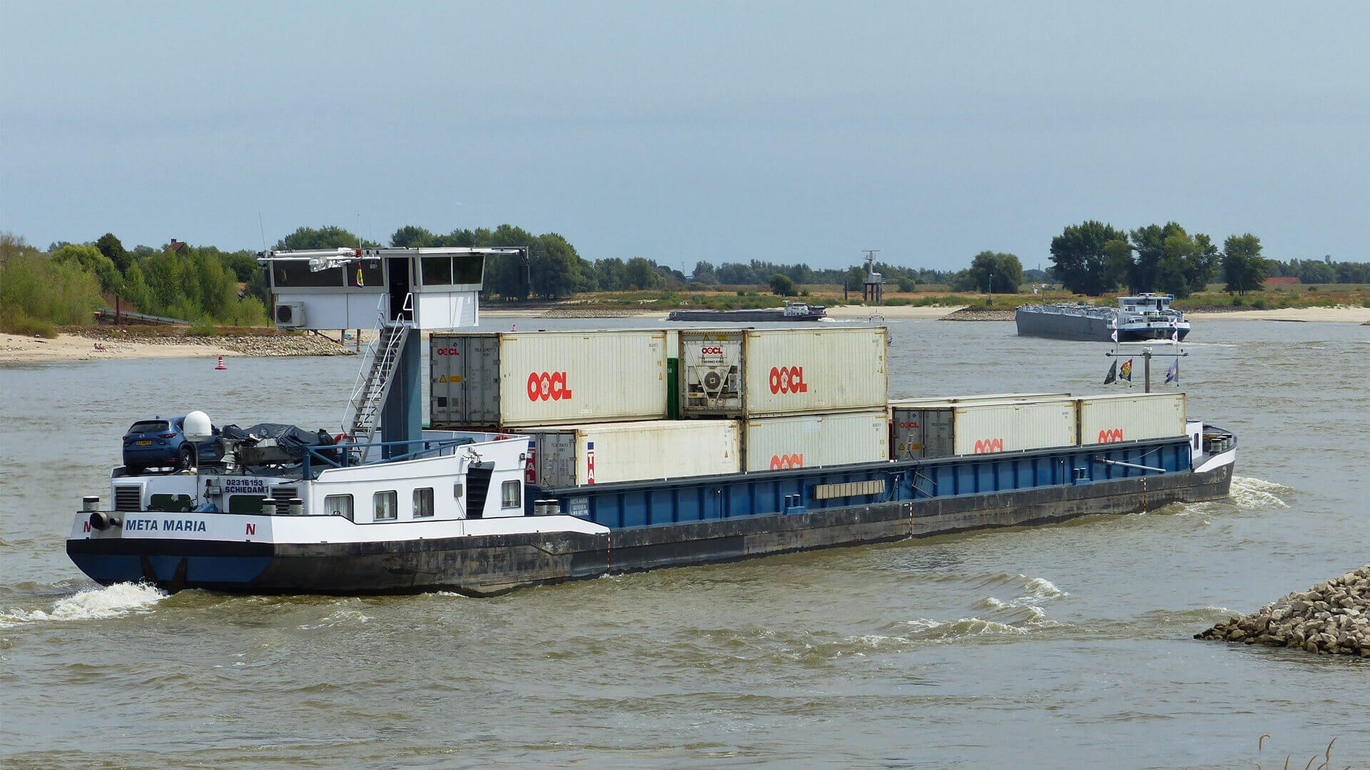 Container Terminal Doesburg voorziet in dagelijkse afvaart