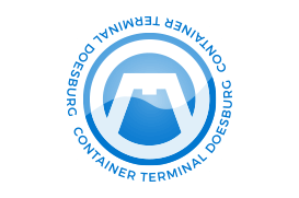 logo in stempelvorm van container terminal doesburg
