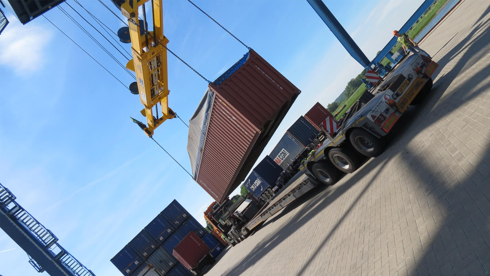 Expediteur Container Terminal Doesburg