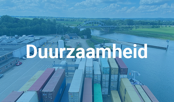 Container Terminal Doesburg Duurzaamheid
