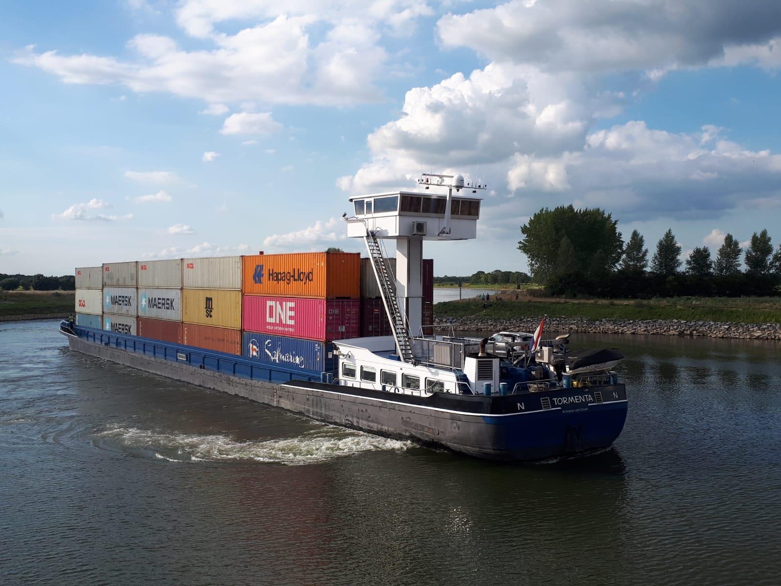 Binnenvaartschip Tormenta