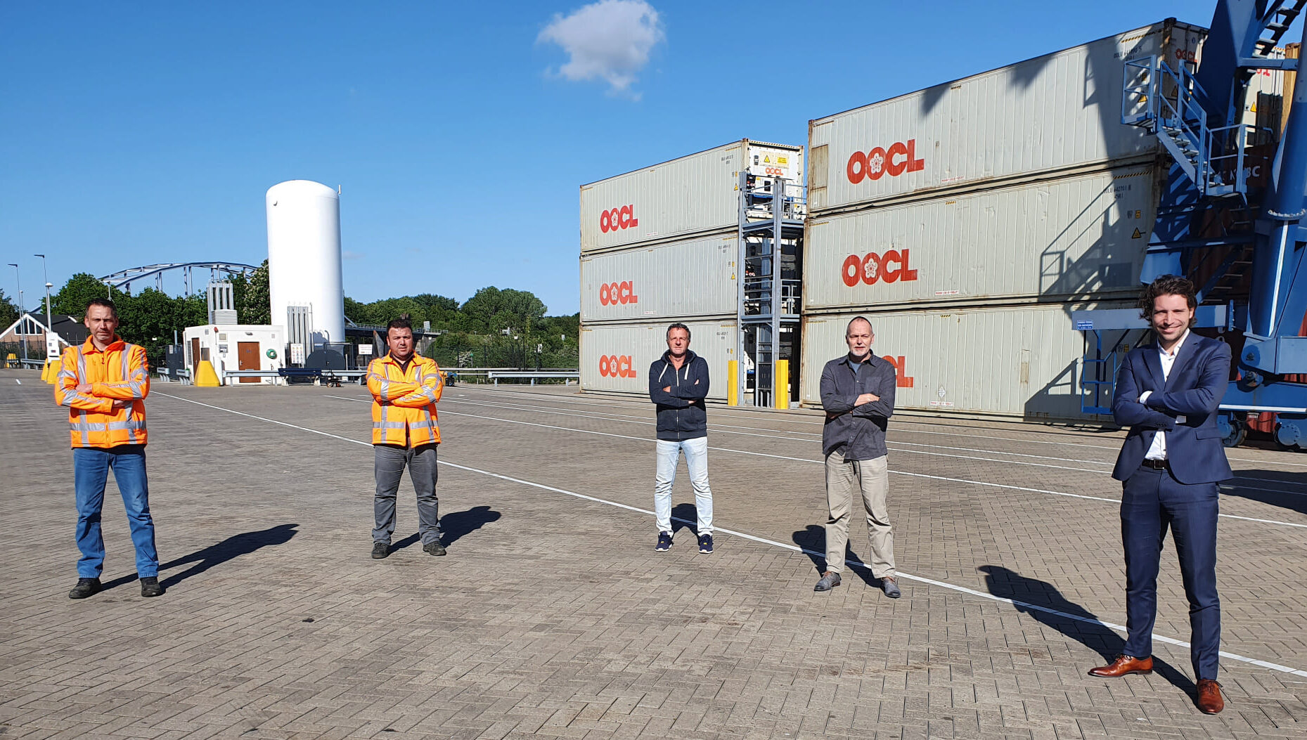Team Container Terminal Doesburg