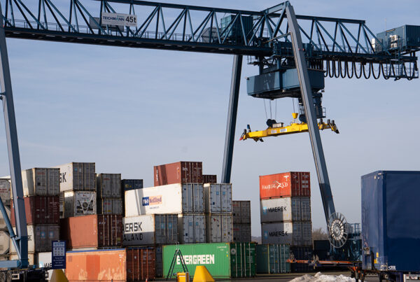 Container Terminal Doesburg containers