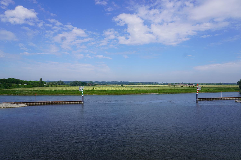 Hoogwater impact op de binnenvaart